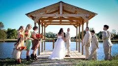 Ceremony at the Pond Dock