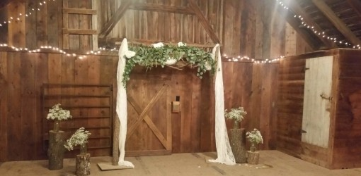 upper barn ceremony